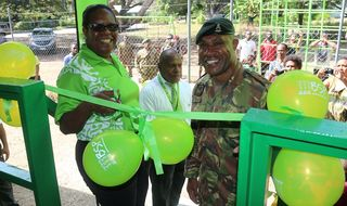 Taurama Barracks Preschool gets facelift