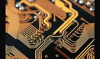 Electronics bonding with gold