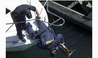 Pacific officials in search training