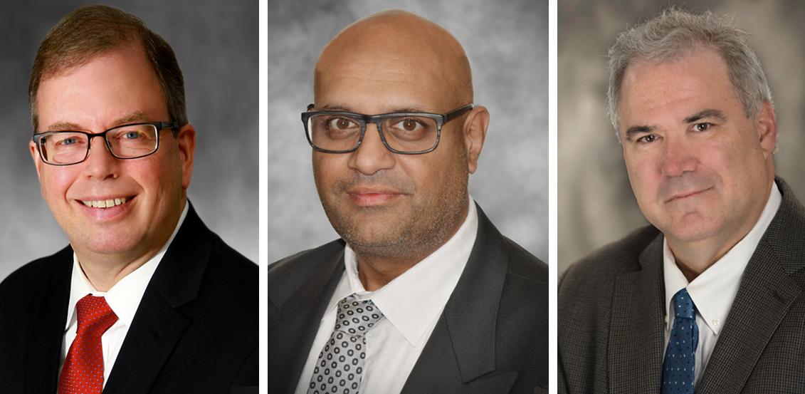 Arthur G. Graham, Avakash Patel and Grant Malensek join Roscoe Postle Associates